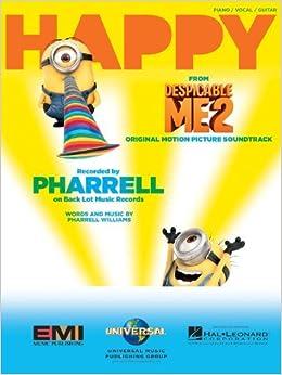 Pharrell Williams - Happy - Sheet Music Single (From