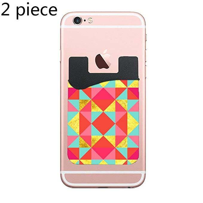Amazon com: ZninesOnhOLD Watercolor Triangles Cell Phone