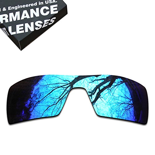 ToughAsNails Polarized Lens Replacement for Oakley Oil Rig Sunglass - More - Polarized Oil Rig