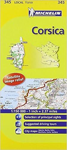 Cartina Michelin Piemonte.Amazon It Corsica 1 150 000 Michelin Travel Publications Libri