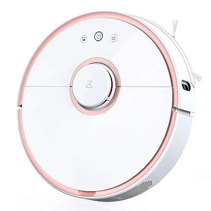 Ydq Aspiradora Inteligente,Robot Aspirador con Aspiración Potente De 2000Pa Y Conectividad Wi-Fi