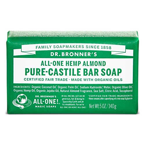 Bronners Almond (Dr. Bronner's Organic Castile Bar Soap - Almond - 5 oz.)