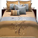Hallmart Collectibles 47889 Camille King Size Comforter Set, 7-Piece