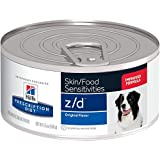Hill's Prescription Diet z/d Original Skin Food Sensitivities Canned Dog Food 24/5.5 oz For Sale