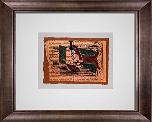 Georges Braque (1882 - 1963) Lithograph | Custom FRAME | Limited Edition | Sign | ARTdocs Registered Documentation + ARTsure Lifetime Guarantee (Lithograph 1882)