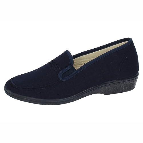 SOCA 640 Zapatilla Lona Tela SEÑORA Zapatillas Azul 35: Amazon.es: Zapatos y complementos