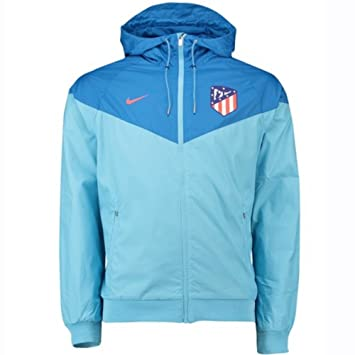 Nike 2018-2019 Atletico Madrid Authentic Windrunner Jacket (Blue): Amazon.es: Deportes y aire libre