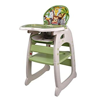 Outstanding Techstyleuk Uks Best Mamakids 3 In1 Infant Toddler Baby High Chair Portable Cushion Play Table Convertible Eating Feeding Booster Folding Adjustable Download Free Architecture Designs Osuribritishbridgeorg