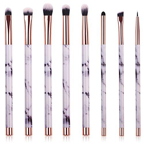 Makeup Brushes, 8pcs Marble Eye Makeup Brush Set for Premium