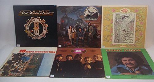 Price comparison product image Classic Rock Lot of 6 Vinyl Record Albums BTO,  Three Dog Night and mroe