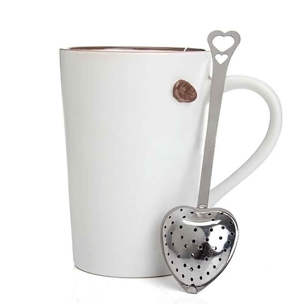Fornateu Coeur en Acier Inoxydable Thé Infuser cuillère Passoire cuillère à thé Outil de Filtre