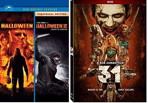 Halloween Collection - Halloween 1 / Halloween 2 Family is forever 2007 & 2009 + 31 Movie a Rob Zombie -