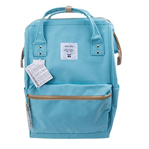 Anello Official Baby Blue Japan Fashion Shoulder Rucksack Backpack Hand Carry Tablet Diaper Bag Unisex by Anello