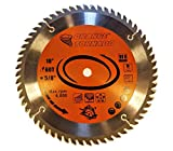 "ORANGE TORNADO 10"" 60 Tungsten Carbide Tooth Saw Blade for Wood"