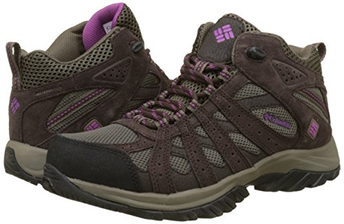 Violet Waterproof Donna Mid 255 Canyon Intense Scarpe Da mud Point Columbia Escursionismo Marrone xB0fPp0n