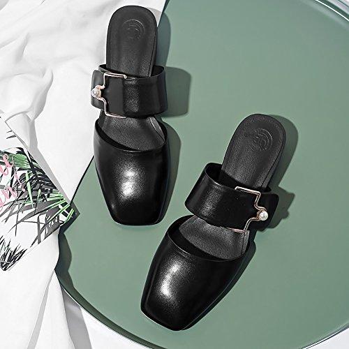 donna e sera da PU Sandali lavoro sfoderate Abito passeggio Scarpe e XUE carriera da moda traspiranti Ciabatte da Scarpe da festa Comfort Ufficio Estate e e B Scarpe da infradito gp4xqEwqA