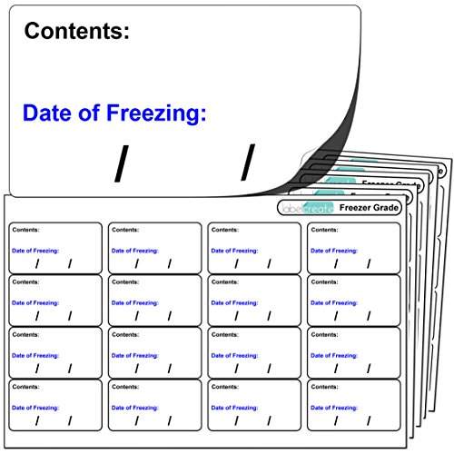 freezer food labels - 5