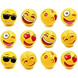 """Emoji Universe Inflatable Beach Ball - Pool Party Favor and Beach Toys 