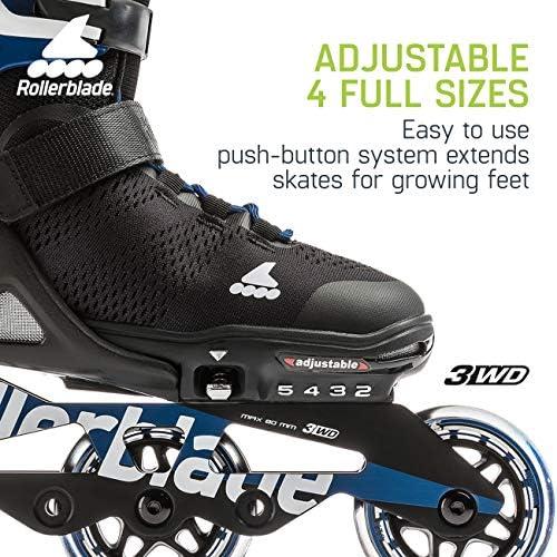 Amazon.com: Rollerblade Alu 3WD - Patines en línea ...