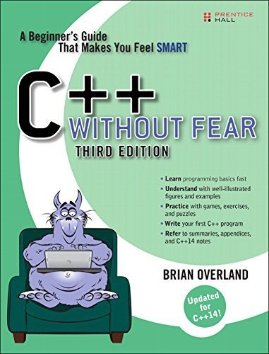 C++ Without Fear: A Beginner's Guide That Makes You Feel Smart (3rd Edition) by Brian Overland - Overland Mall
