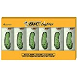 BIC Special Edition Pickle Series Lighters, Set of 6...