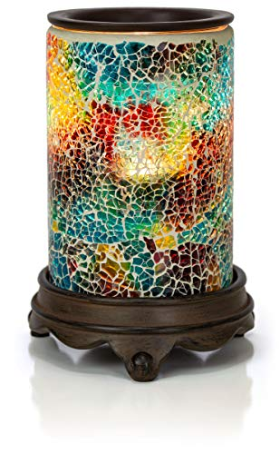 VP Home Mosaic Glass Fragrance Warmer (Polychromatic)