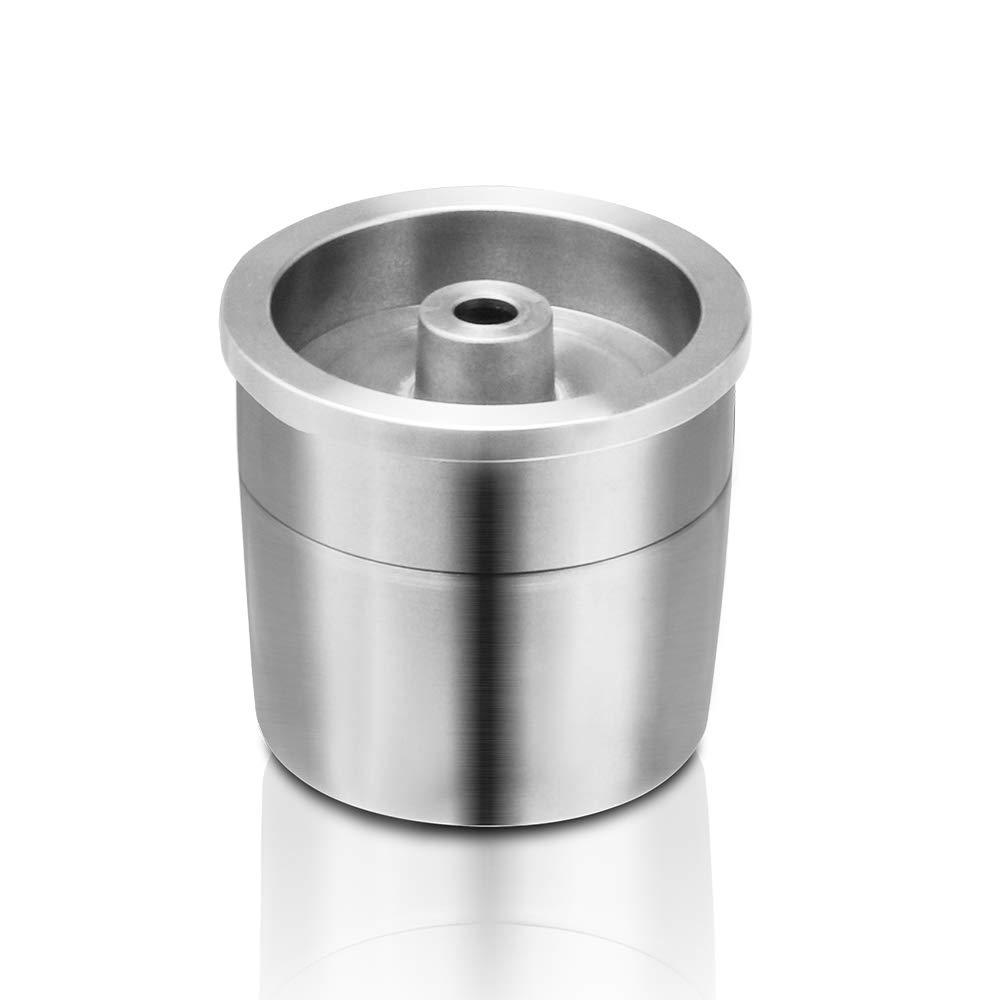 Capsula Caff/è in Acciaio Inossidabile,ABEDOE Capsule Caff/è Riutilizzabili con Filtro Compatibili con la Macchina da Caff/è Illy X9 X8 X7.1 Y5 Y3 Y1.1