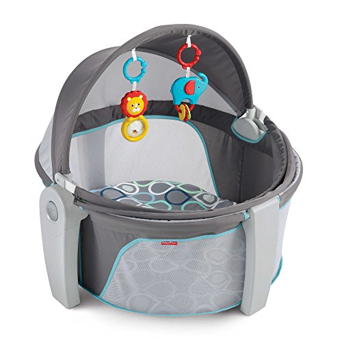 31 5  L X 30  W X 28  H Fisher Price On The Go Baby Dome In Bubbles