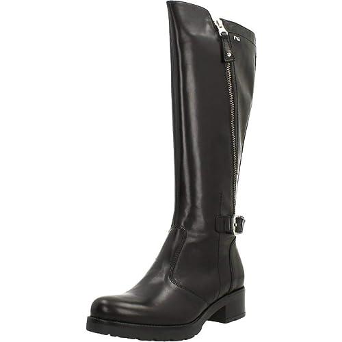 32e67798203 Botas para Mujer, Color Negro, Marca NERO GIARDINI, Modelo Botas para Mujer  NERO GIARDINI A807057D Negro: Amazon.es: Zapatos y complementos