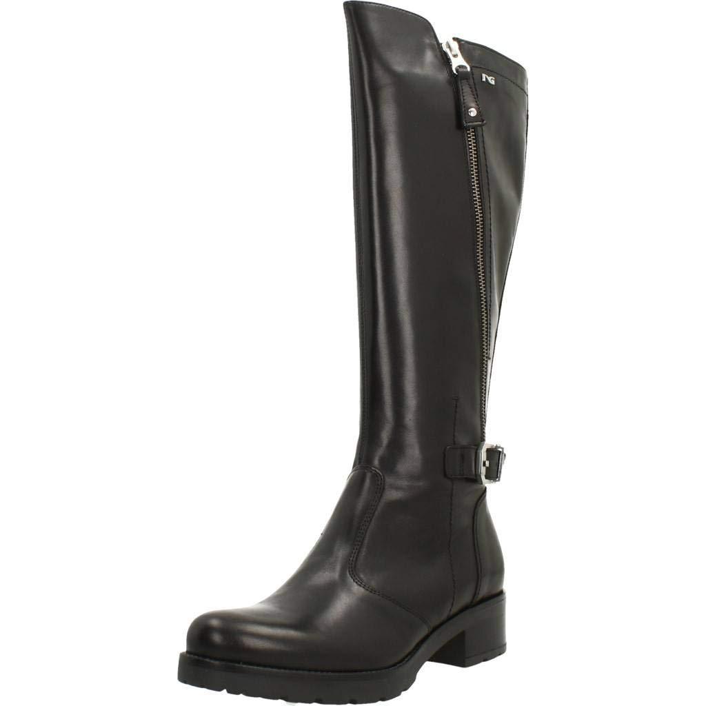 Schwarz Giardini Stiefel Damen, Farbe Schwarz, Marke, Modell Stiefel Damen A807057D Schwarz