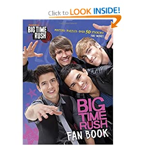 Big Time Rush Fan Book (Big Time Rush) (Full-Color Activity Book with Stickers) Golden Books