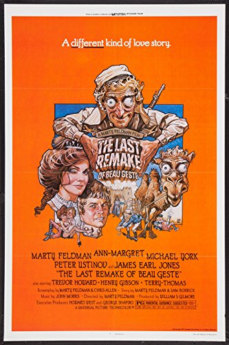 Beau Geste Poster - THE LAST REMAKE OF BEAU GESTE - 27