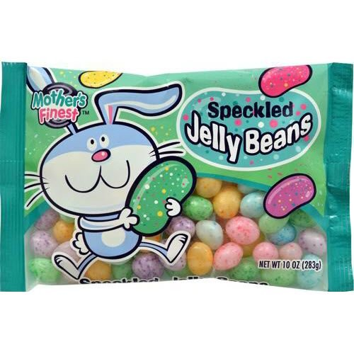 EASTER CANDY MOTHERS FINEST CLASSIC SPECKLED JELLY BEANS 10 OZ ()
