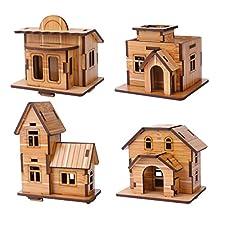 3D Wooden Puzzle Mini House
