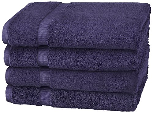 Pinzon Organic Cotton Bath Towels , Navy