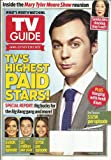 TV Guide August 26 - September 8, 2013 TV S Highest Paid Stars! Double Issue