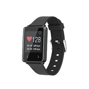AMH Fitness pulsera, Z8 1.44 OLED Bluetooth 4.2 Smart Reloj de pulsera con pulsómetro