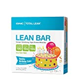 GNC Total Lean Lean Bar, Hunger Satisfying High in Protein, Vanilla Birthday Cake For Sale