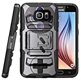 Cheap TurtleArmor | Compatible for Samsung Galaxy S7 Case | G930 [Hyper Shock] Hybrid Dual Layer Armor Holster Belt Clip Case Kickstand – Classic Game Controller
