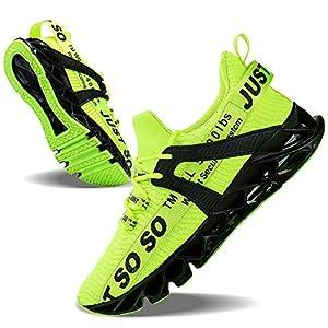 נעל ספורט לגברים מונעת החלקה ובנויה עם טכנולוגיה למניעת ריחות