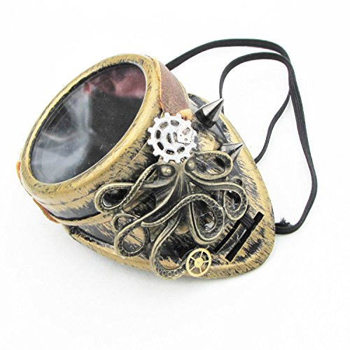 Giant Octopus Monocle Steampunk (Sunglass Monocle)