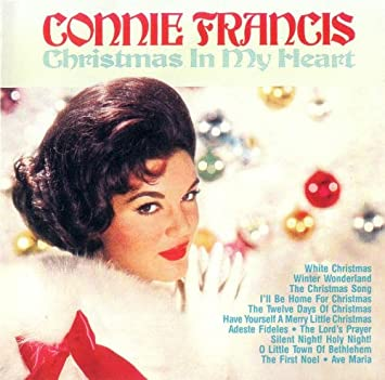 I Ll Be Home For Christmas 1988.Connie Francis Christmas In My Heart Amazon Com Music