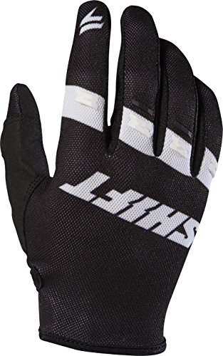 2017 Shift White Label Air Gloves-Black/White-4XL by Shift