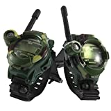 Alician Children Toy Walkie Talkie Outdoor Children Parent Watches Intercom Two Way Radio Camouflage 2pcs