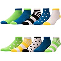 10-Pack Elephant Brand Low Cut and Athletic Performance Women's Socks