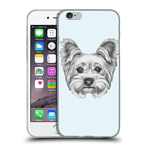 "GoGoMobile Coque de Protection TPU Silicone Case pour // Q05120619 Chien dessin Bulles // Apple iPhone 6 PLUS 5.5"""