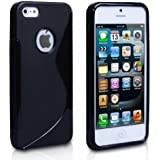 High Value Apple Iphone 5C Black Silicone Gel S Line Grip Case Cover For Apple Iphone 5C By G4GADGET®