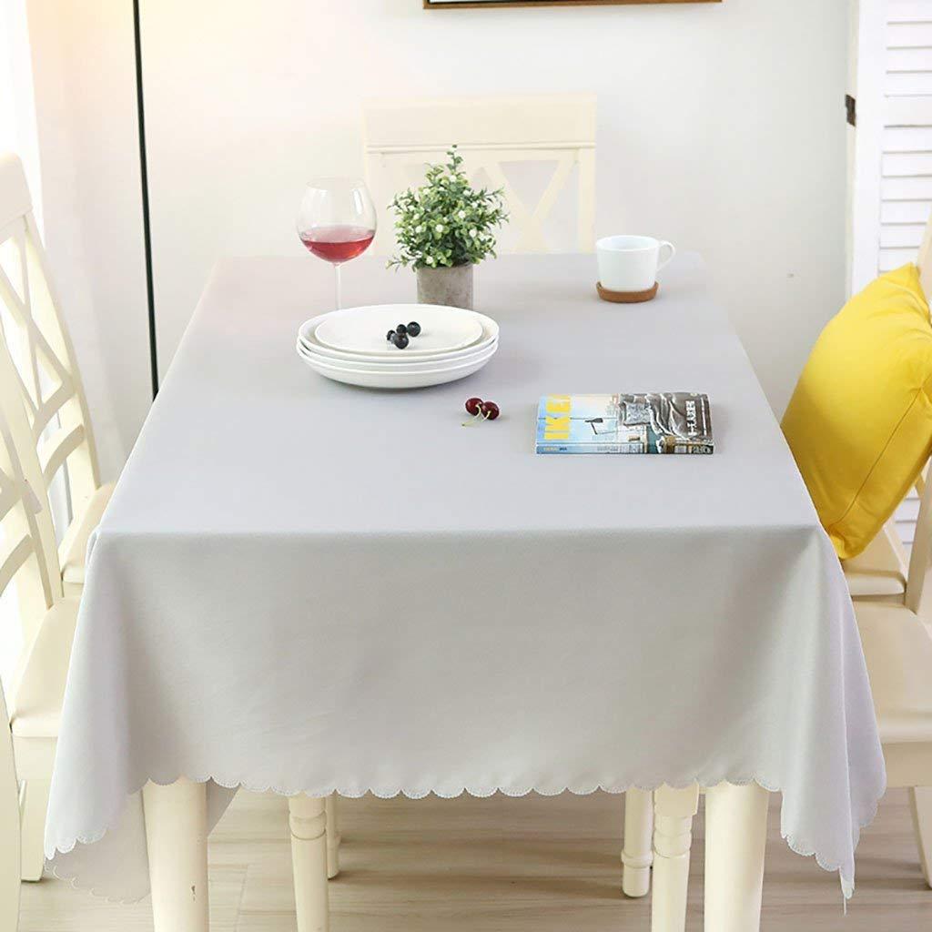Shuangdeng テーブルクロス、ポリエステルファイバー製のテーブルクロス、ピュアカラーの長方形のテーブルクロス、ユニークなパーティー用テーブルクロス、ティーテーブルクロス、家庭用、オフィス、会議用、ホテル用テーブルクロス、シンプルでモダン (サイズ : 180*300cm) 180*300cm  B07SDMWRPZ