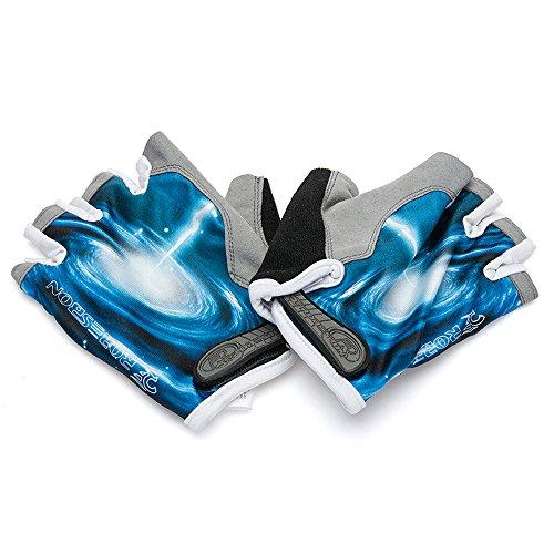 Ezyoutdoor Bike Full Finger Glove Riding Glove Breathable Unisex Reflex Outdoor Cycling Skiing Skateboard Shock Pads by ezyoutdoor (Image #9)