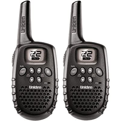 Uniden 16-Mile 22 Channel Battery FRS/GMRS Two-Way Radio Pair